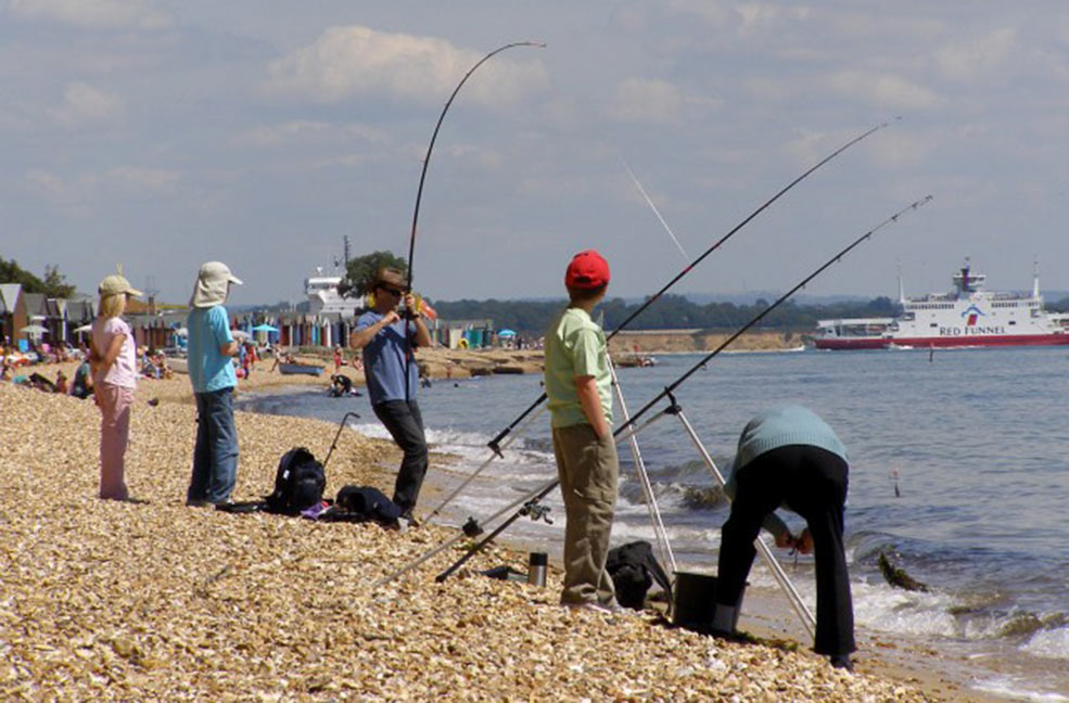 Calshot fishing