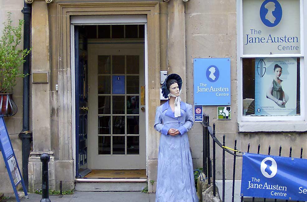 Take part in the Jane Austen festival for literary fun in Bath.