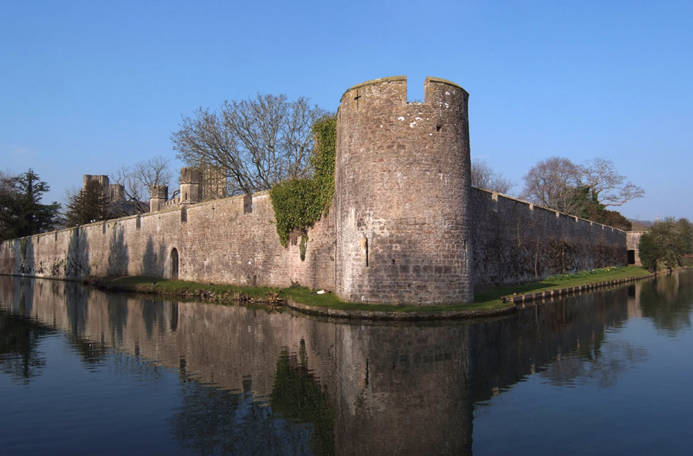 Bishops Palace moat
