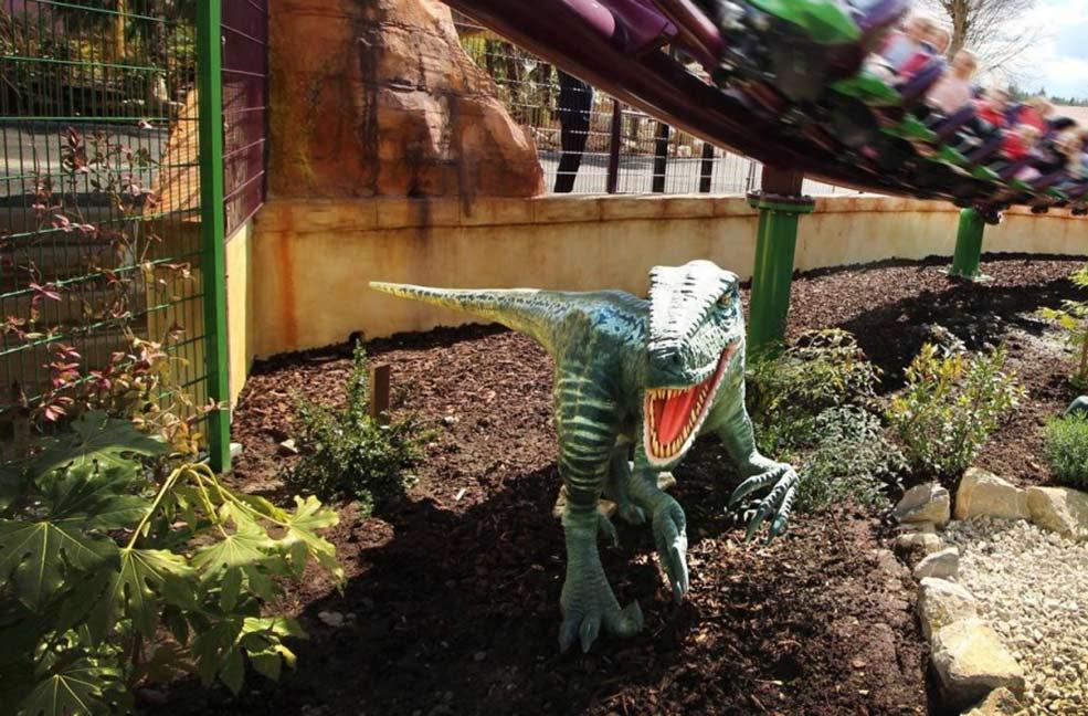 Velociraptor at Lost Kingdom