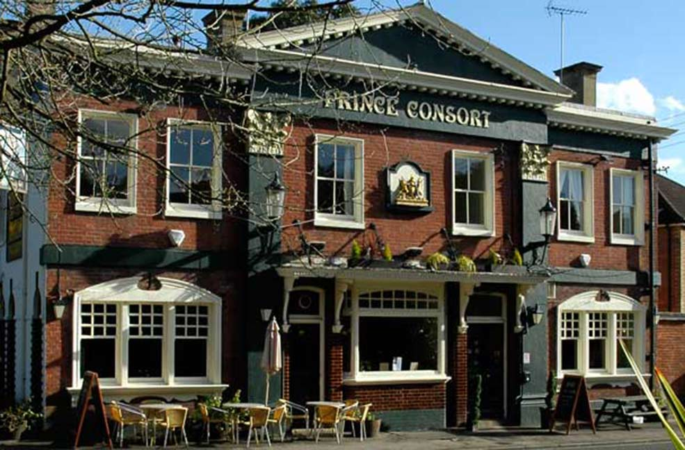 Prince Consort dog friendly pub