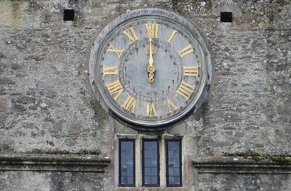Time seems to stop at Dartington Hall