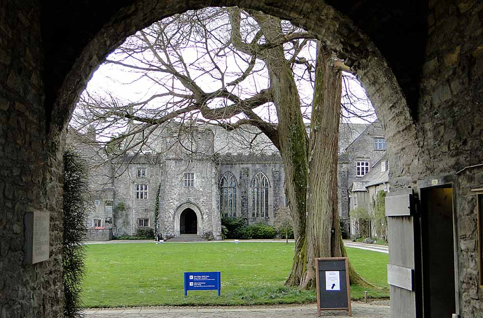 Dartington Hall Courtyard Entrance
