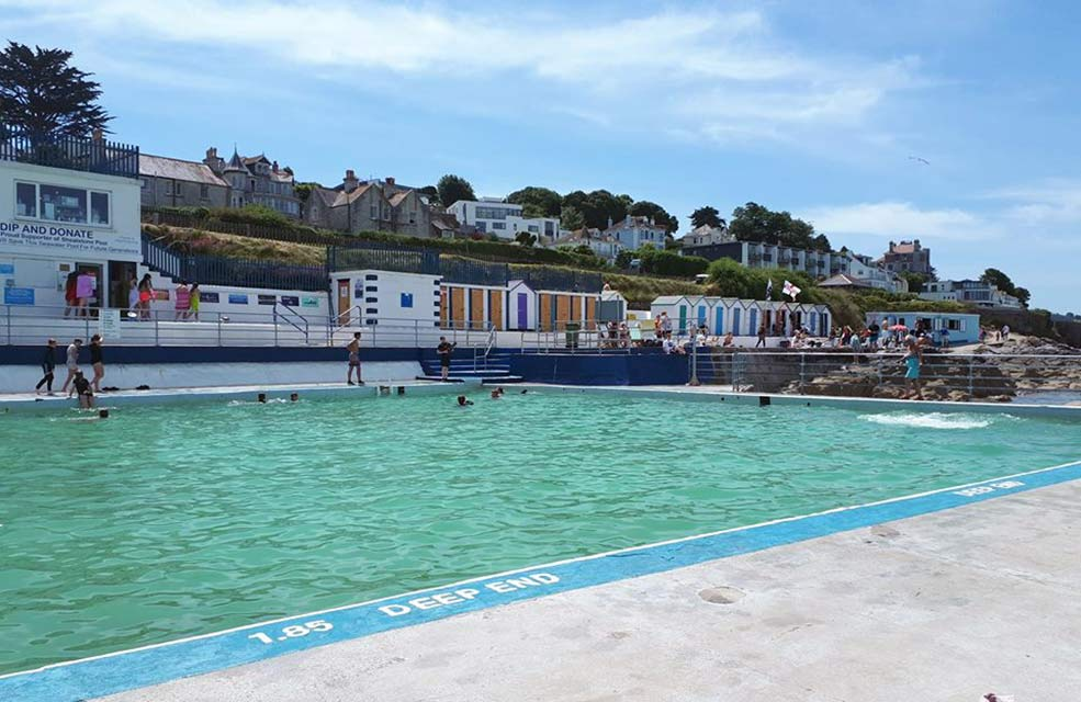 Splash around in the water and burn off some energy before heading home to your self catering holiday let.