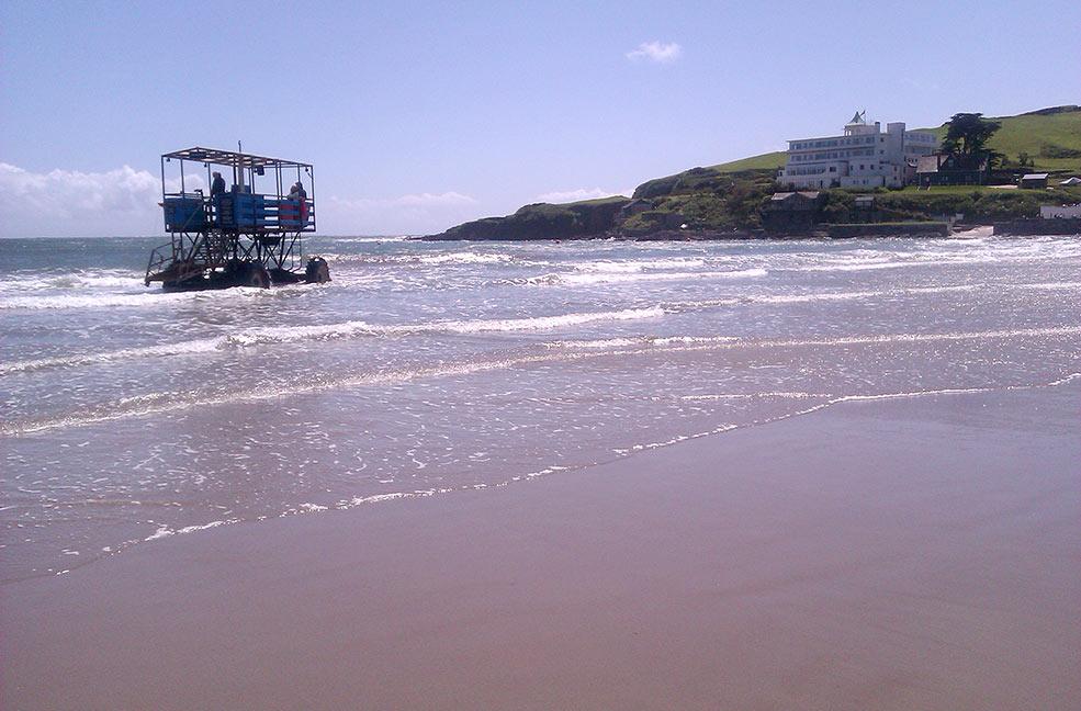 Bigbury sea tractor