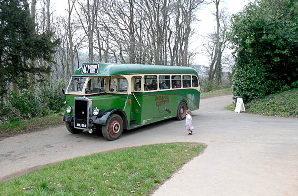 Agatha Christie trail bus
