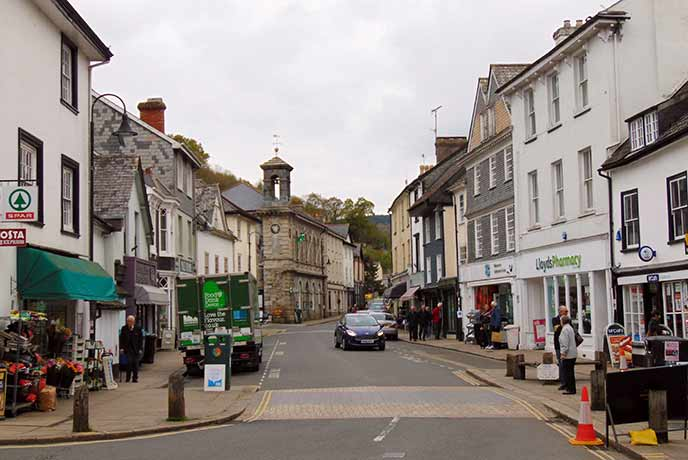 Ashburton is an historic town on the edge of Dartmoor in south Devon.