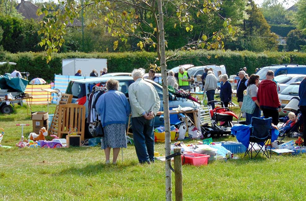 Leisurely car boot afternoons