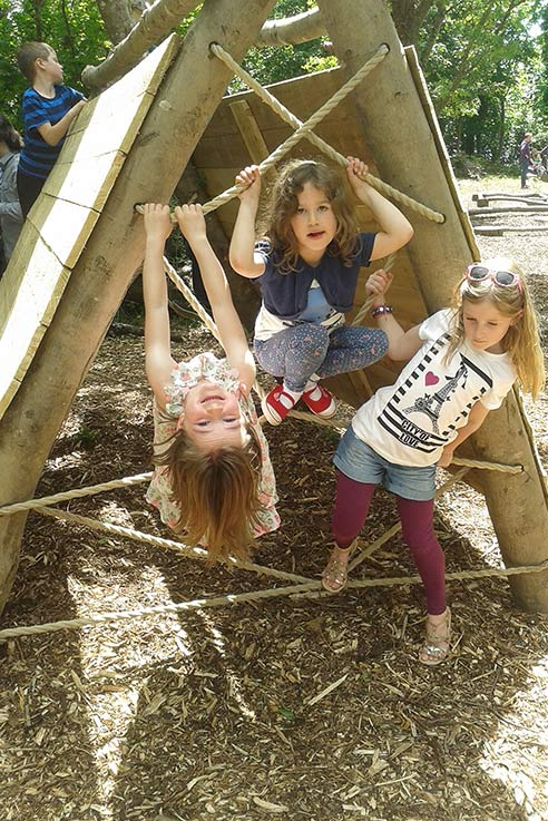 Have a fun day with all the family building dens in the summer sunshine.