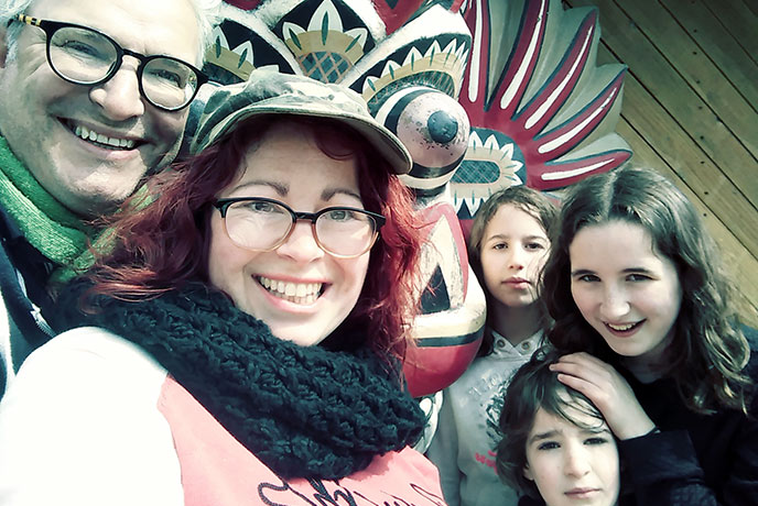 A very happy family day out at Crealy Theme Park in Devon.