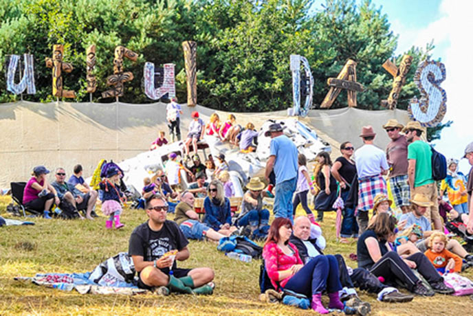 Chill out in the sunshine at one of Devon's largest festivals, Beautiful Days.