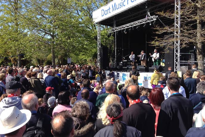 Follow the crowds to Dartmouth's most popular music festival.