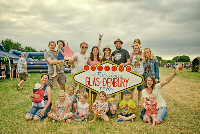 In the shadow of Denbury Hill, Glas-Denbury is a great festival for all ages.