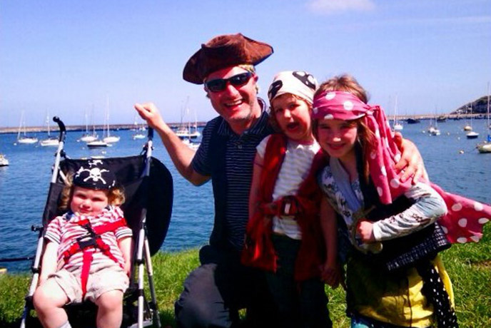 Don your pirate hat and eyepatch, me hearties! The annual Pirate Festival in Brixham is a great excuse to dress up.