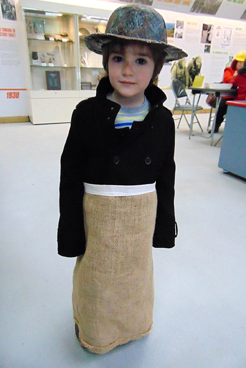 Geevor tin mine costume