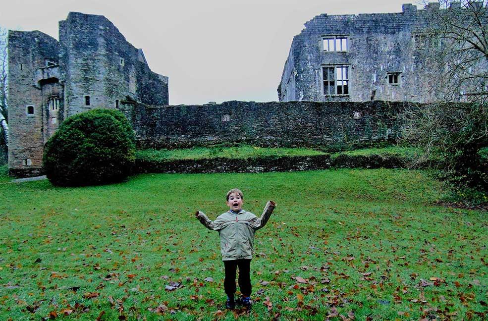 Ghost hunting in Devon