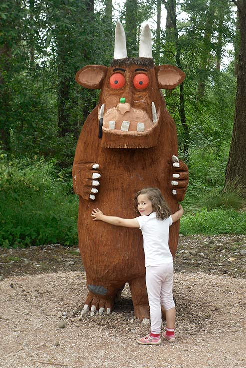Family Holidays: There's no such thing as a Gruffalo?