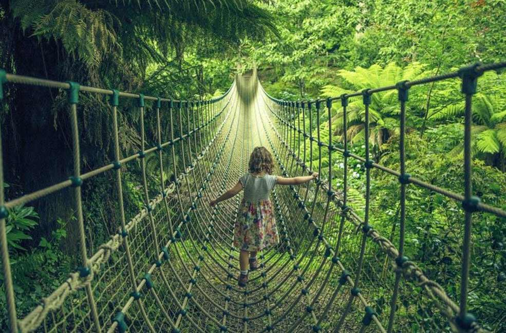 Family Holidays: Sleeping Giants and Mud Maids at the Lost Gardens of Heligan