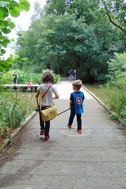 Newton Abbot pond walk