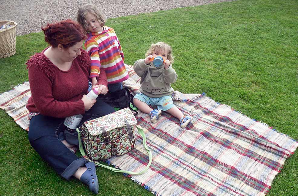 Family friendly picnic spots in south Devon.