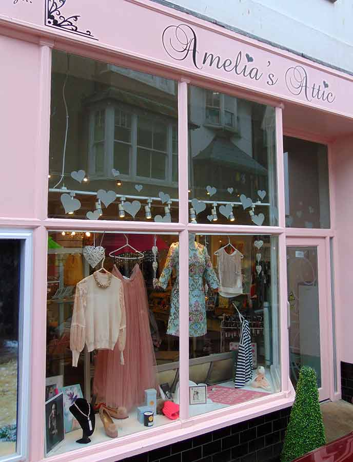 Shop til you drop in Salcombe's beautiful boutique stores,