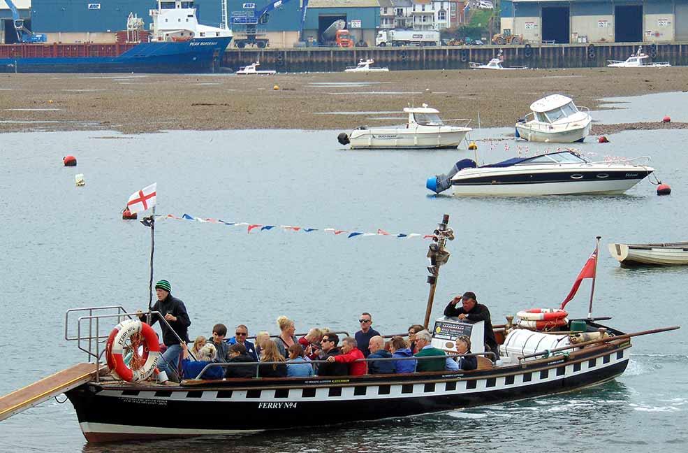 Shaldon ferry
