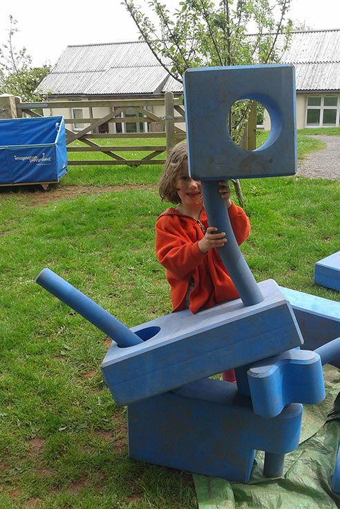 Imagination Playground and the man-eating chicken