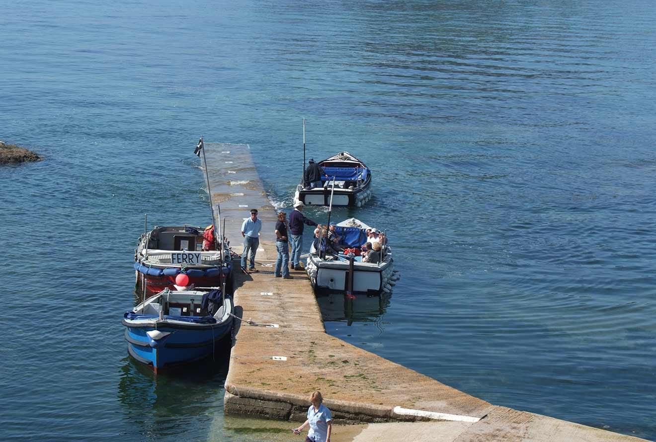 St Michael's Mount ferry