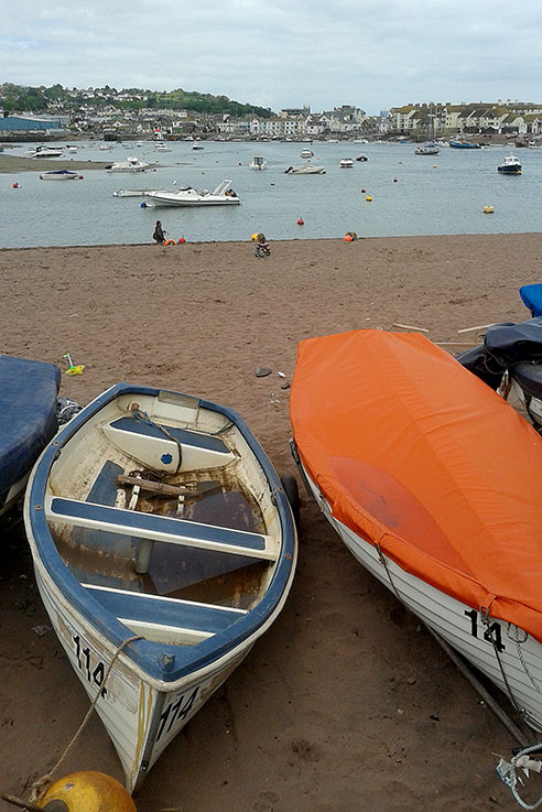 Teignmouth boats