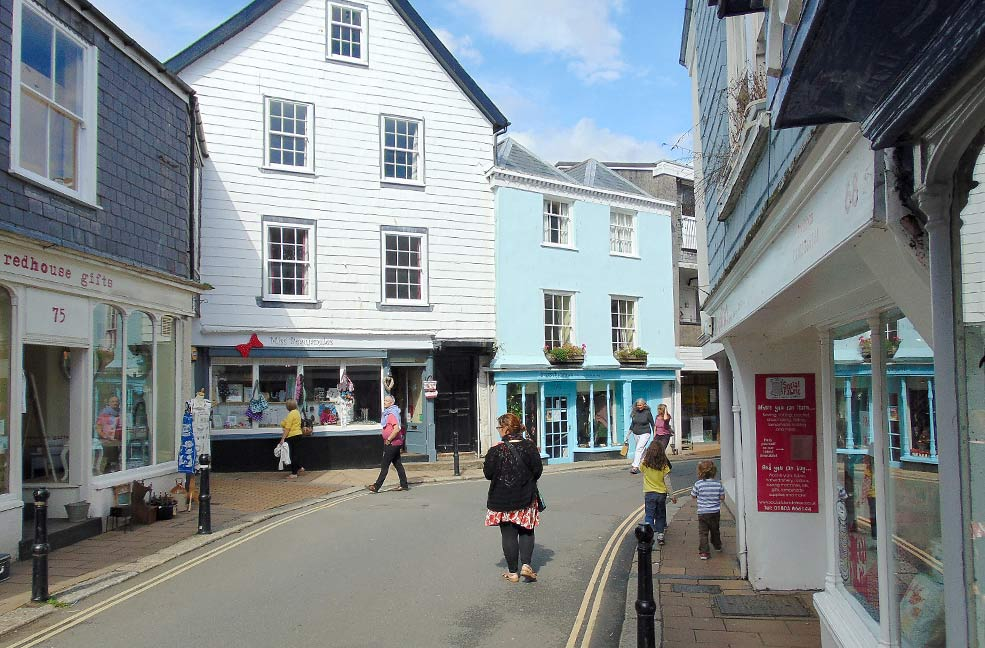Totnes shops