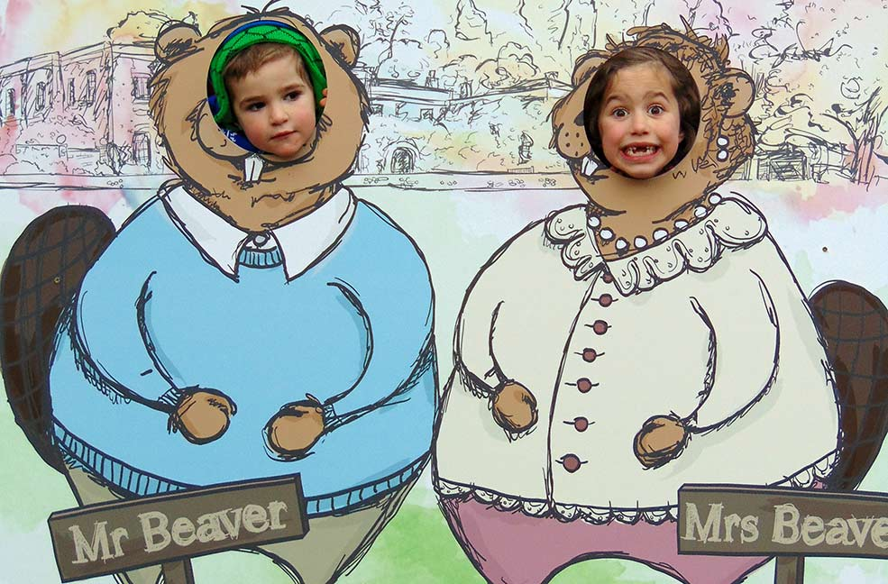 Narnia comes to Christmas at Killerton