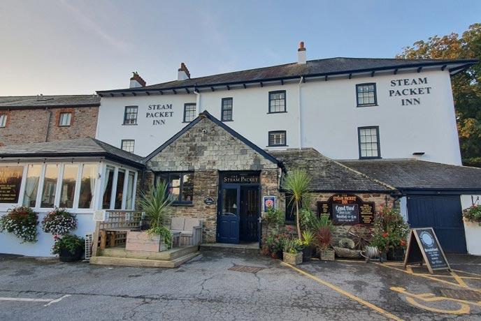 The Steam Packet Inn, Totnes