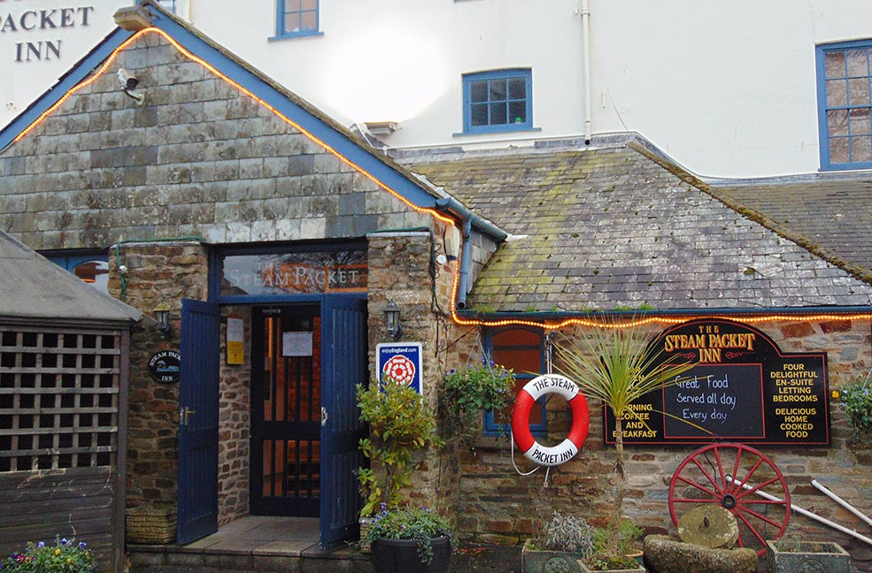 The Steam Packet Inn Totnes