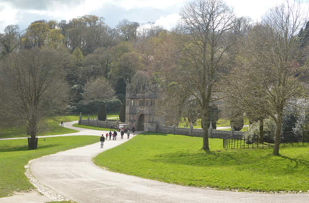 Visit Cornwall for Lanhydrock house