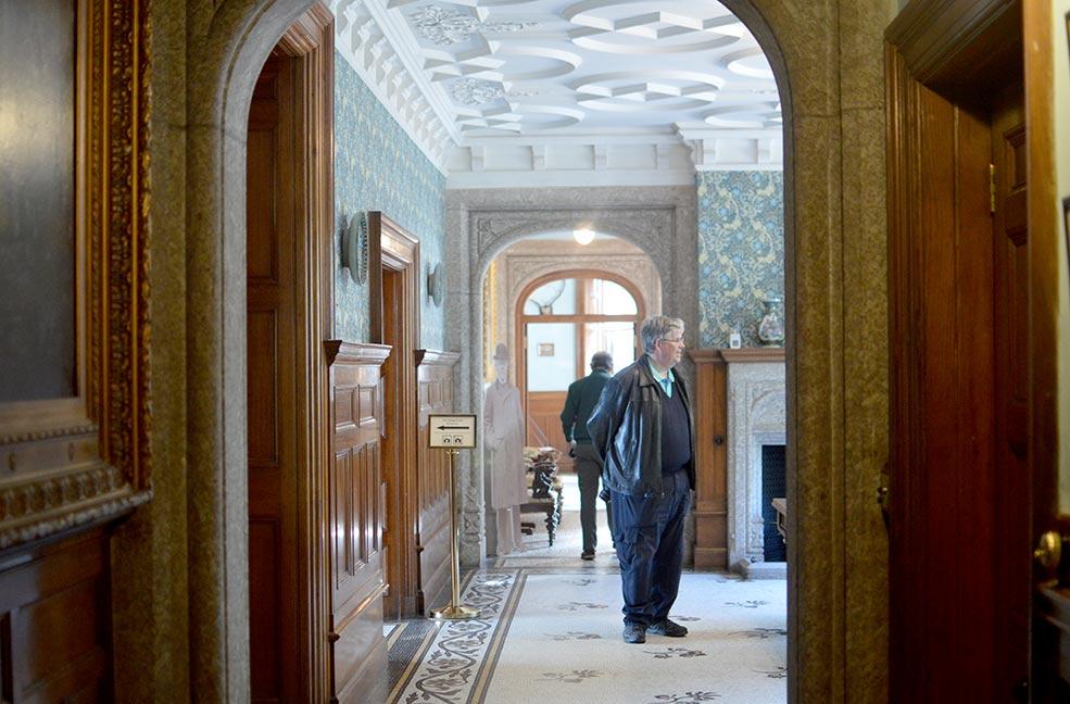 Lanhydrock hallway