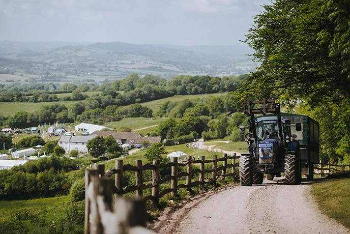 There's so much to do on the site of the fair in Axminster.