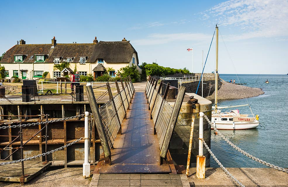 Porlock is a charming village by the sea in Somerset.
