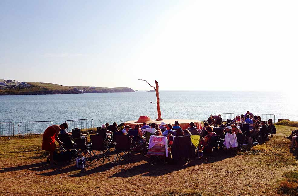 Open Air Theatre in Cornwall