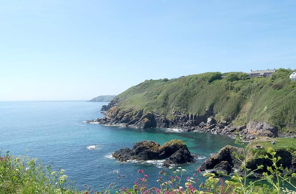 Cadgwith coast