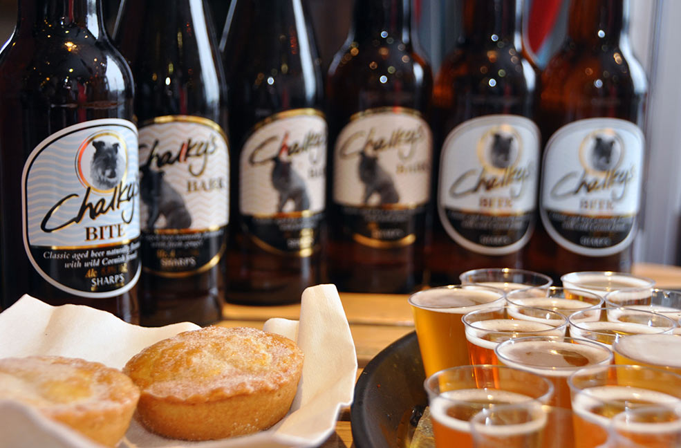 Rick Stein beer and pies by Jonathan Hanney