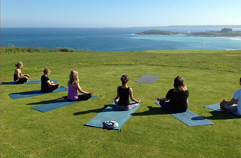 Relax in Cornwall with Yoga in Newquay