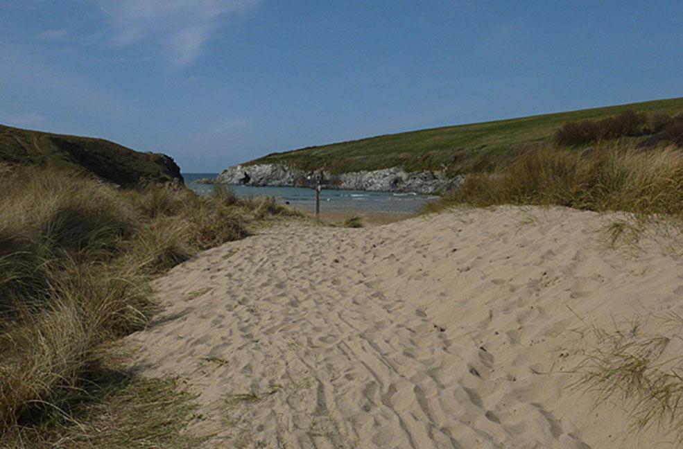 Poly Joke beach near Newquay