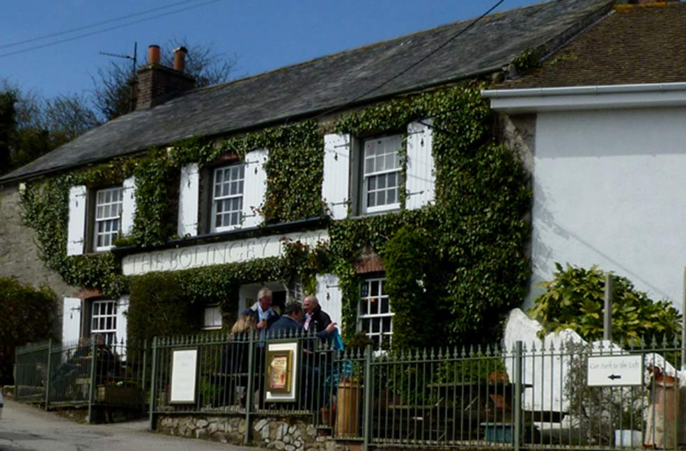 Bolingey Inn dog friendly pub cornwall