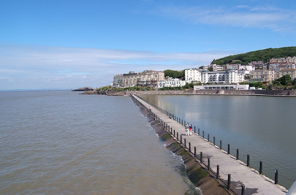 Weston-super-Mare boardwalk
