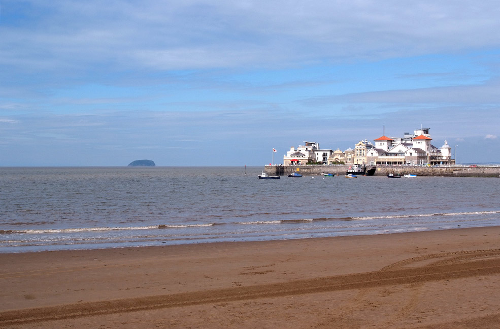 Weston-super-Mare beach pier