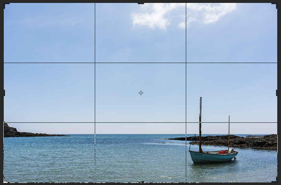 The rule of thirds works to keep your subjects aligned in your image.