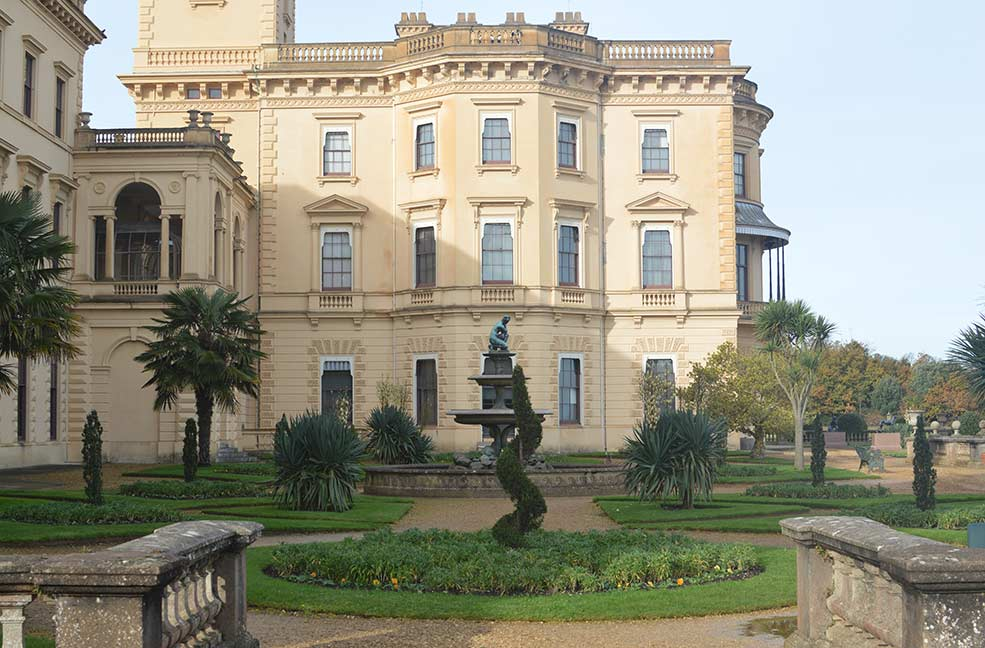 Osborne House on the Isle of Wight