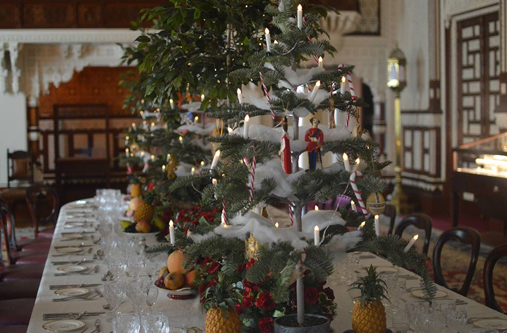 Christmas decorations at Victorian Osborne House