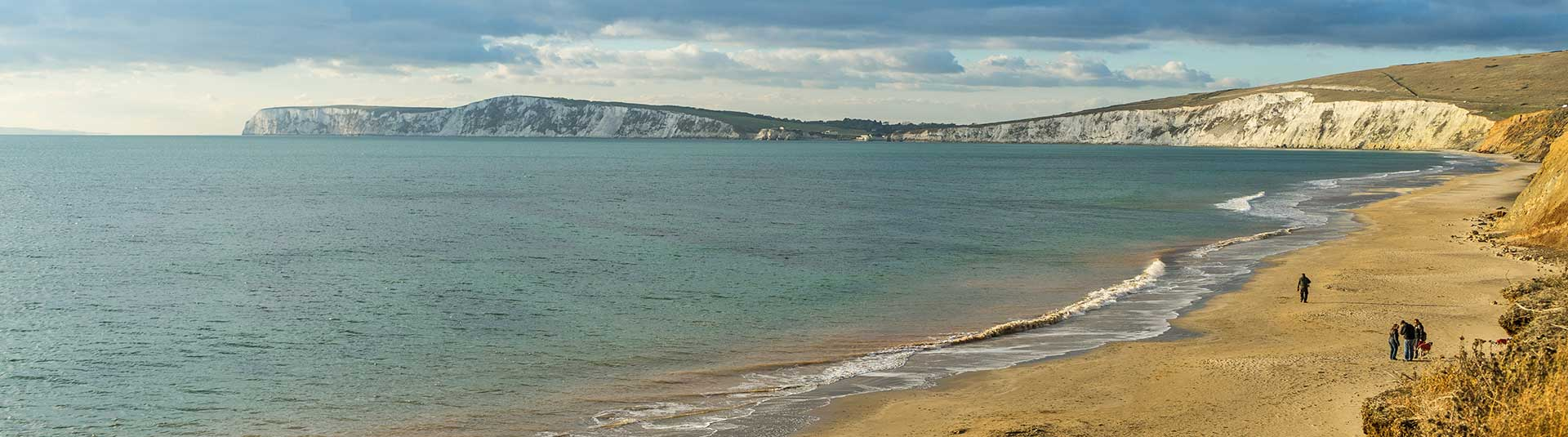 Sea side walks on the Isle of Wight