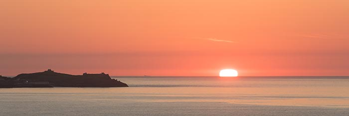 Enjoy a cornish sunset